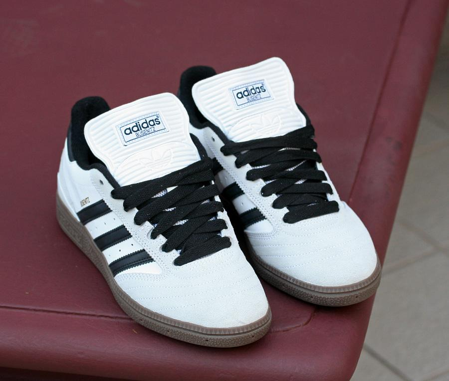 new arrival 5d81c 7aed3 Adidas Skateboarding Busenitz – White Black Gum   Hyping Up The ...